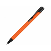 Ручка металлическая шариковая Crepa, оранжевый/черный