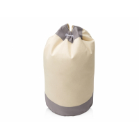 Рюкзак-мешок Indiana хлопковый, 180гр, натуральный/серый