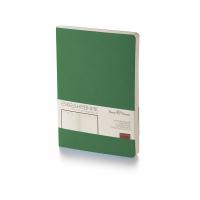 Ежедневник А5 недатированный Megapolis Flex, темно-зеленый