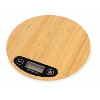 Бамбуковые кухонные весы Scale, натуральный
