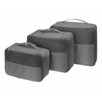 Комплект чехлов для путешествий Easy Traveller, серый