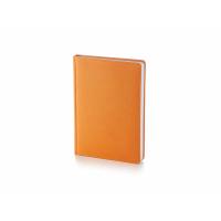 Ежедневник А5 недатированный Leader, оранжевый