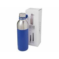 Медная спортивная бутылка с вакуумной изоляцией Koln объемом 590мл, cиний