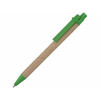 Ручка картонная шариковая Эко 3.0, зеленый