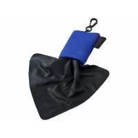 Очищающая салфетка Clear из микрофибры в чехле, синий