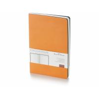 Ежедневник А5 недатированный Megapolis Flex, оранжевый