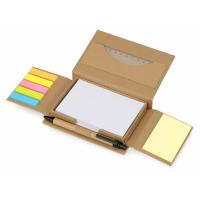 Канцелярский набор для записей Stick box, натуральный