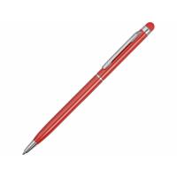 Ручка-стилус металлическая шариковая Jucy, красный