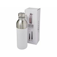 Медная спортивная бутылка с вакуумной изоляцией Koln объемом 590мл, белый