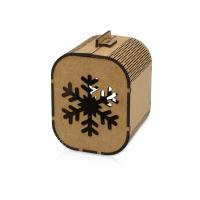 Подарочная коробка Снежинка, малая