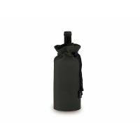 Охладитель для бутылки вина Keep cooled из ПВХ в виде мешочка, черный