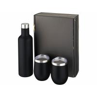 Подарочный набор из медных предметов с вакуумной изоляцией Pinto и Corzo, черный