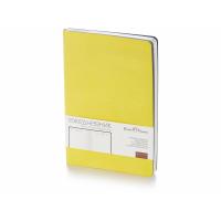 Ежедневник А5 недатированный Megapolis Flex, желтый