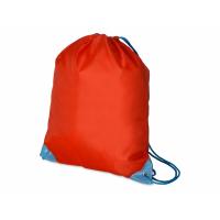 Рюкзак- мешок Clobber, красный/голубой