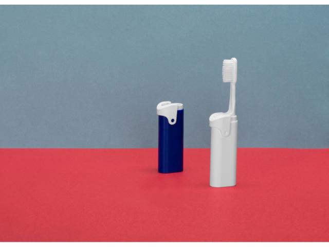 Складная зубная щетка с пастой «Clean Box»