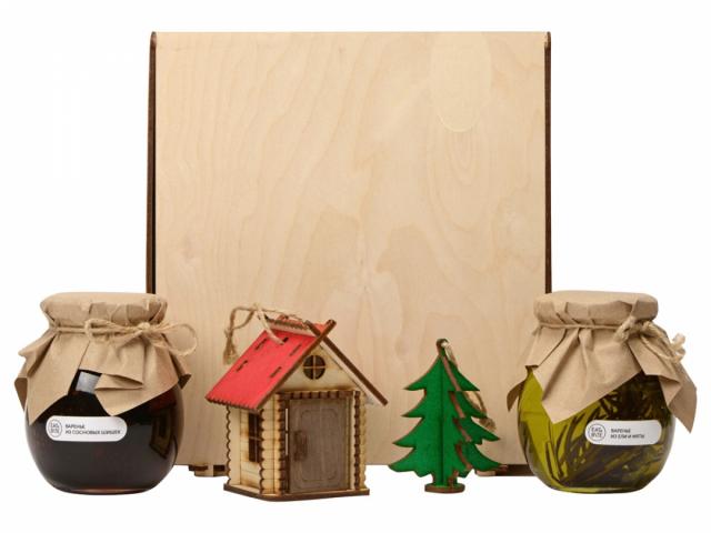 Подарочный набор «Decoration Deluxe» с двумя видами варенья