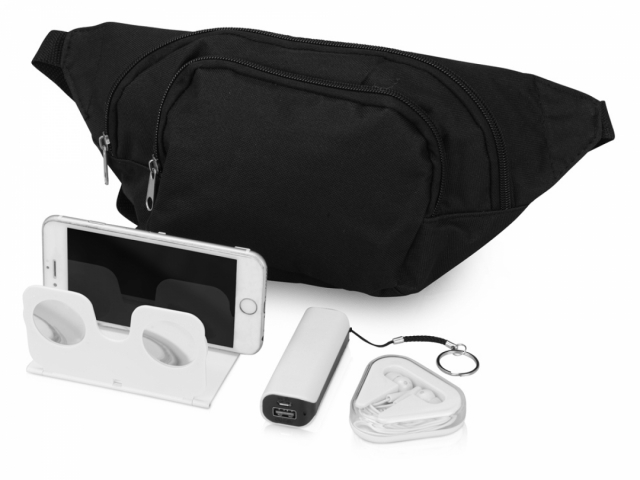 Подарочный набор Virtuality с 3D очками, наушниками, зарядным устройством и сумкой