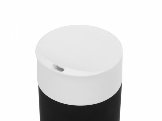 Вакуумная термокружка Recoil, черный/белый