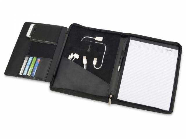 Папка для документов «Jacques» cо встроенным зарядным устройством 4000 mAh