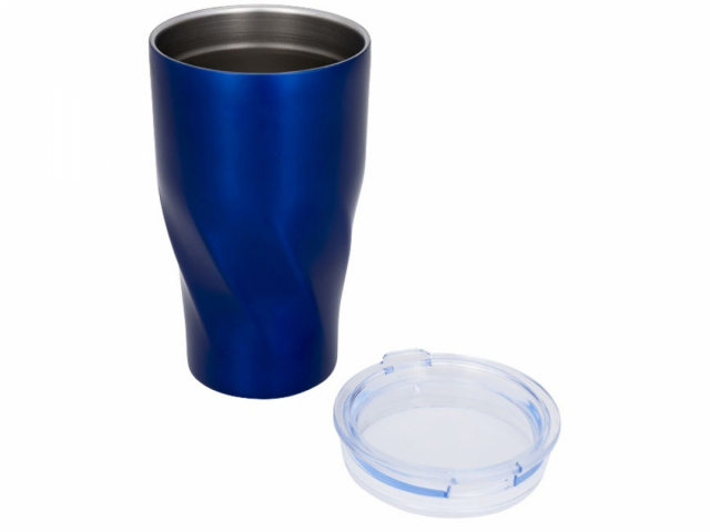 Вакуумный стакан Hugo, синий