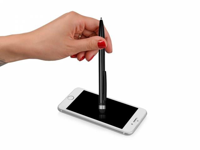 Ручка-стилус металлическая шариковая «Poke»