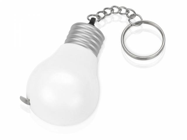 Брелок-рулетка для ключей «Лампочка», 1м