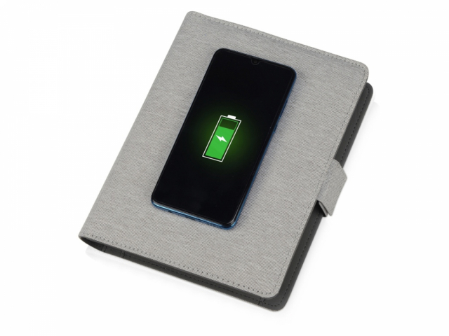 Органайзер с беспроводной зарядкой «Powernote», 5000 mAh
