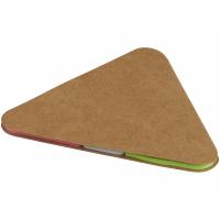 Треугольные стикеры, коричневый
