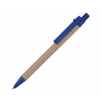 Ручка картонная шариковая Эко 3.0, синий