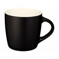 Керамическая чашка Riviera, черный/белый