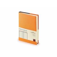 Ежедневник А5 полудатированный Porto, оранжевый