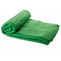 Плед Huggy в чехле, зеленый