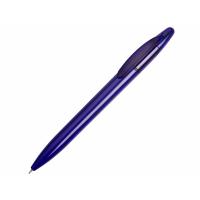 Ручка пластиковая шариковая Mark с хайлайтером, синий