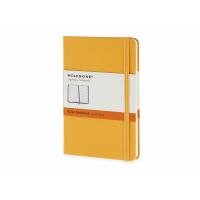 Записная книжка Moleskine Classic (в линейку) в твердой обложке, Pocket (9x14см), оранжевый