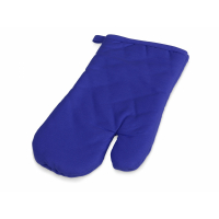 Хлопковая рукавица, синий