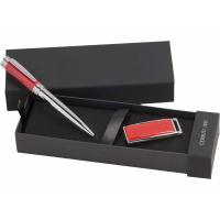 Подарочный набор: ручка шариковая, USB-флешка на 8 Гб