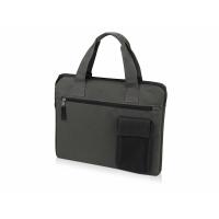 Конференц сумка Session, серый/черный