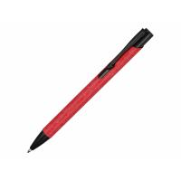 Ручка металлическая шариковая Crepa, красный/черный