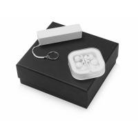 Подарочный набор «Non-stop music» с наушниками и зарядным устройством