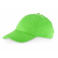 Бейсболка Detroit 6-ти панельная, зеленое яблоко