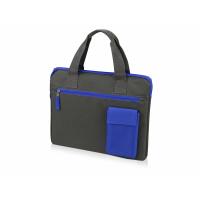 Конференц сумка Session, серый/синий