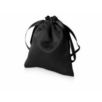 Мешочек подарочный сатиновый S, черный