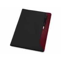 Папка для документов Nadine, черный/темно-красный