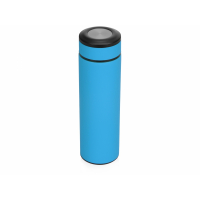 Термос Confident с покрытием soft-touch 420мл, голубой