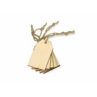 Набор деревянных ярлыков 5*3 см, 6шт