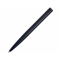Ручка металлическая шариковая Bevel, темно-синий/черный