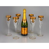 Набор бокалов для шампанского «Сила льва»