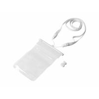 Чехол водонепроницаемый Splash для смартфонов, прозрачный/белый