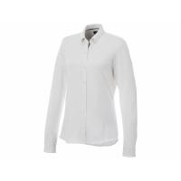 Женская рубашка Bigelow из пике с длинным рукавом, белый