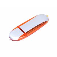 USB 3.0- флешка промо на 32 Гб овальной формы